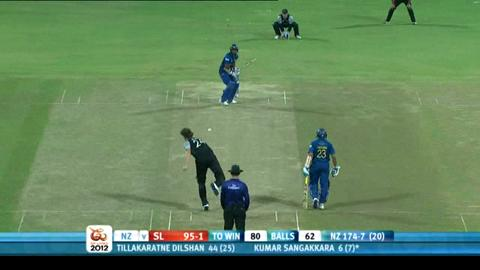 Super Eights - Sri Lanka v New Zealand - Sri Lanka innings