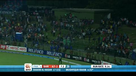 Group D - Pakistan v Bangladesh - Bangladesh innings