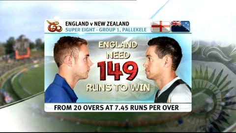 Super Eights - England v New Zealand - Match highlights