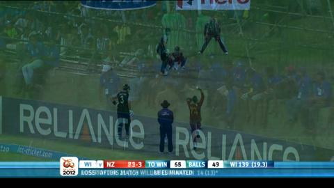Super Eights - West Indies v New Zealand - New Zealand innings