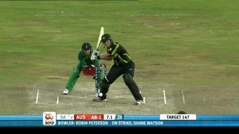 Super Eights - Australia v South Africa - Match highlights