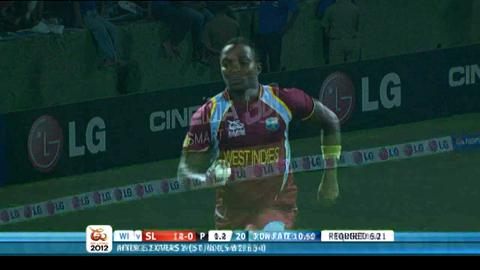 Super Eights - Sri Lanka v West Indies - match highlights