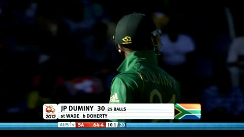 Super Eights - Australia v South Africa - South Africa innings