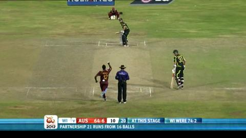 2nd men's semi-final - Australia v West Indies - Australia innings