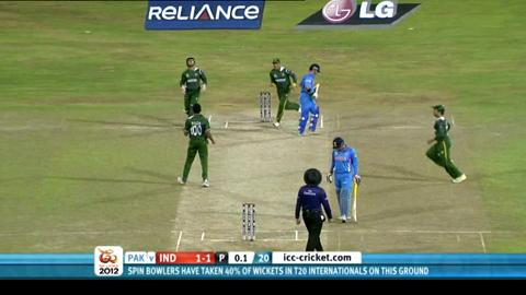 Super Eights - Pakistan v India - match highlights