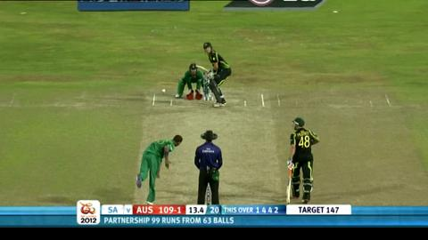 Super Eights - Australia v South Africa - Australia innings