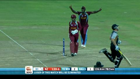 Super Eights - West Indies v New Zealand - match highlights