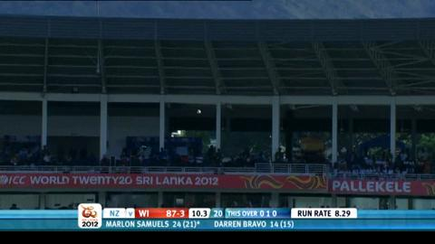Super Eights - West Indies v New Zealand - West Indies innings