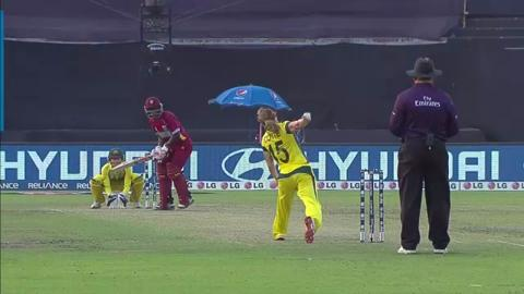 SF1: Australia women v West Indies women - Deandra Dottin Wicket