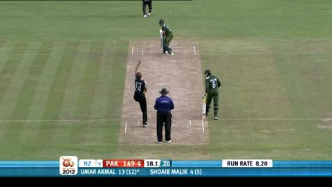 Group D - Pakistan v New Zealand - Match highlights