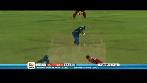 Group C - Sri Lanka v Zimbabwe, Sri Lanka innings highlights