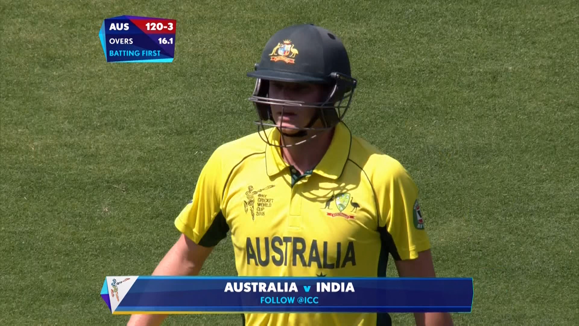 AUS vs IND – smith wicket