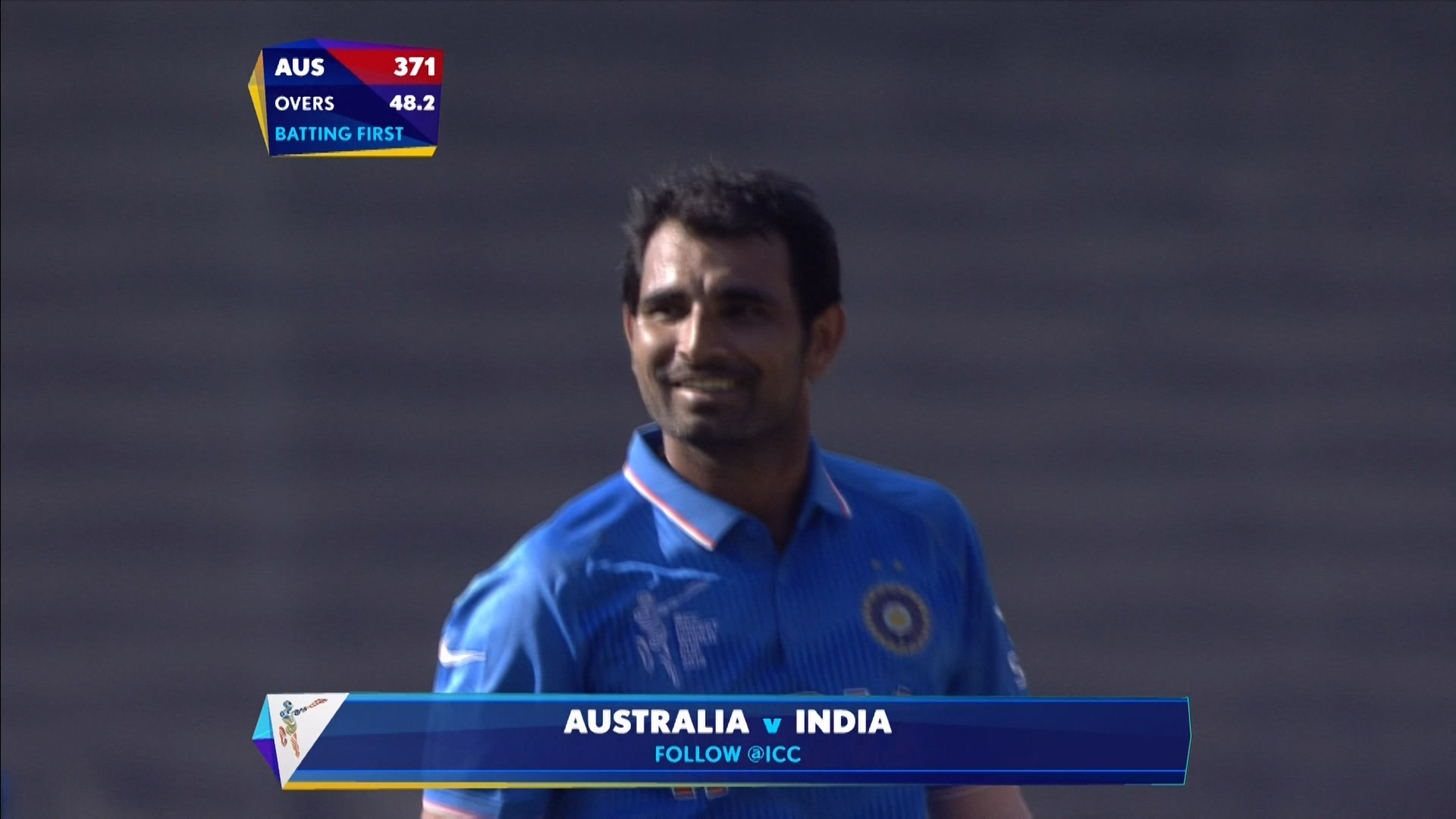AUS vs IND – shami bowling package