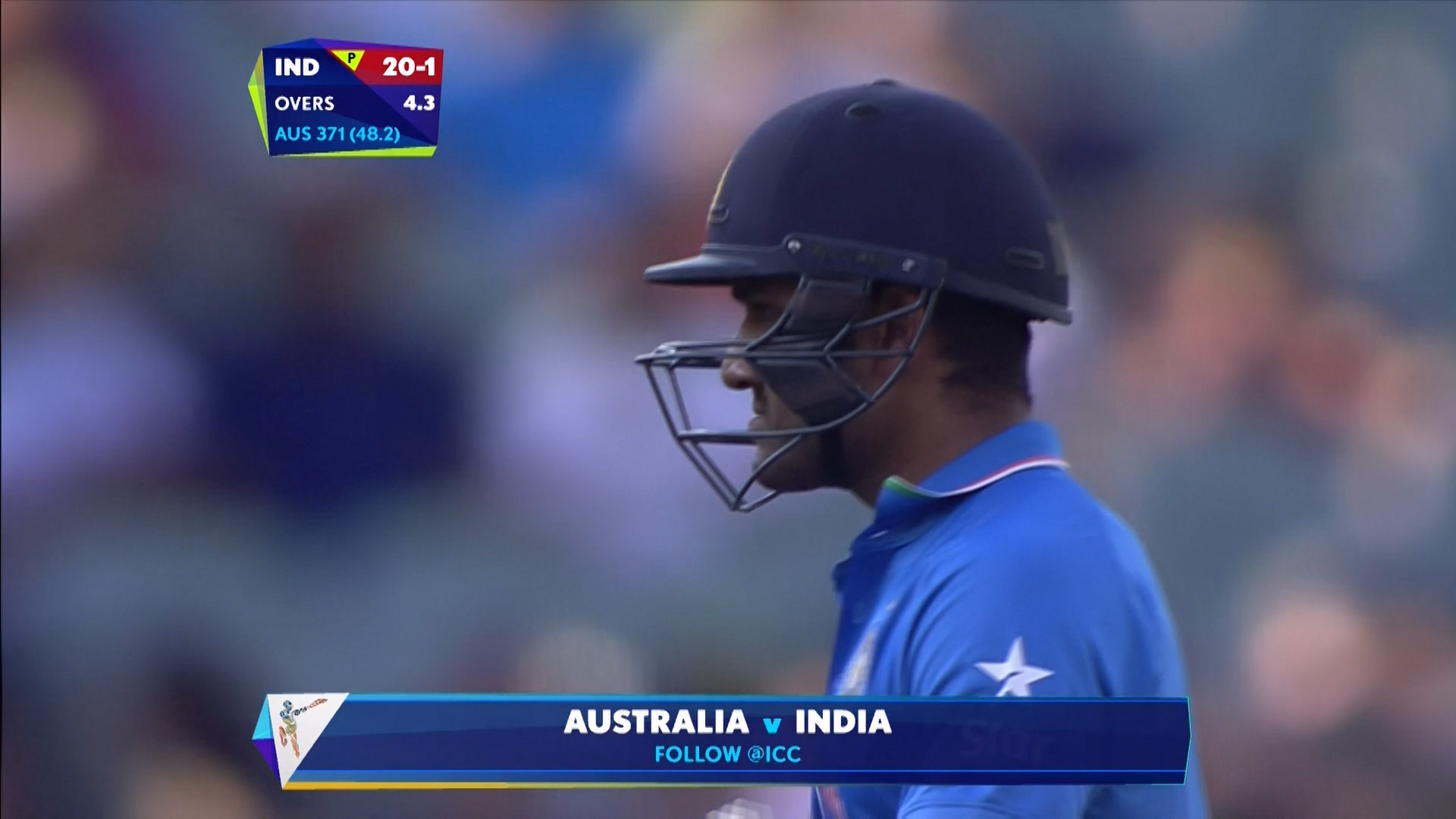 AUS vs IND – rohit sharma wicket