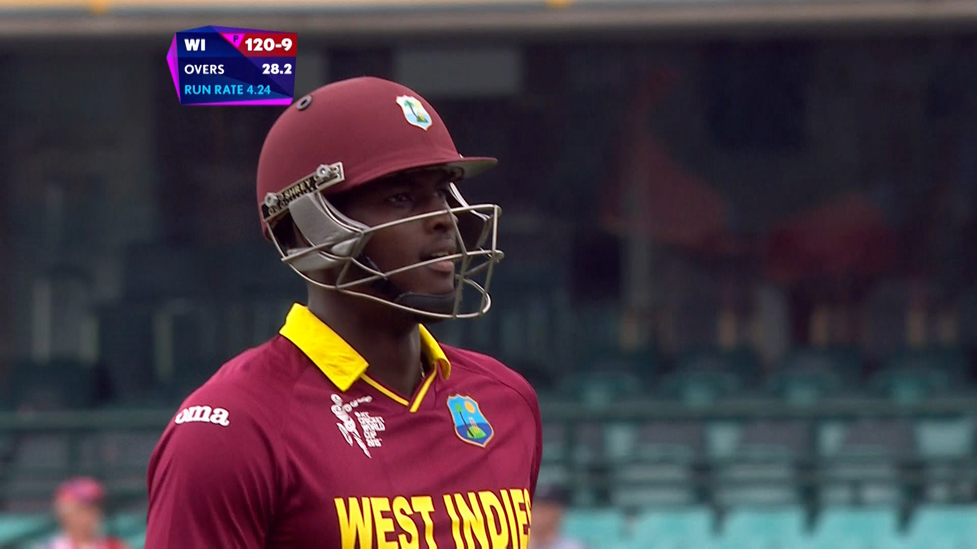 ENG vs WI – holder wicket