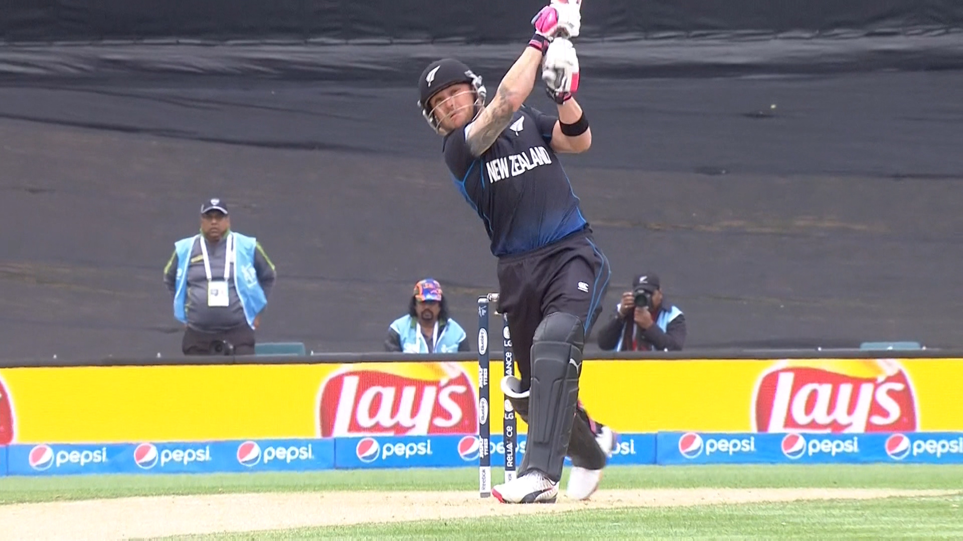 New Zealand innings super shots – SL vs NZ