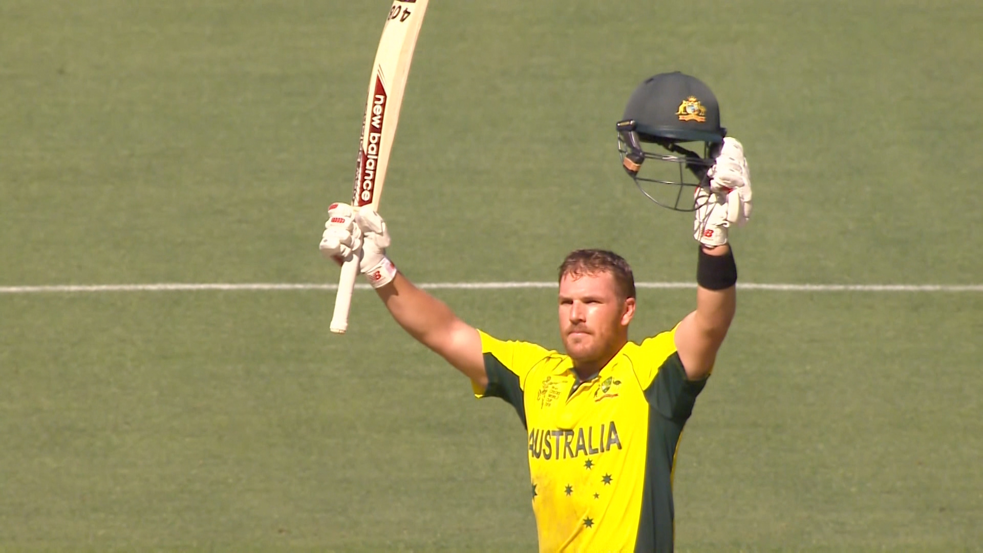 Destructive innings by Aaron Finch – AUS vs ENG