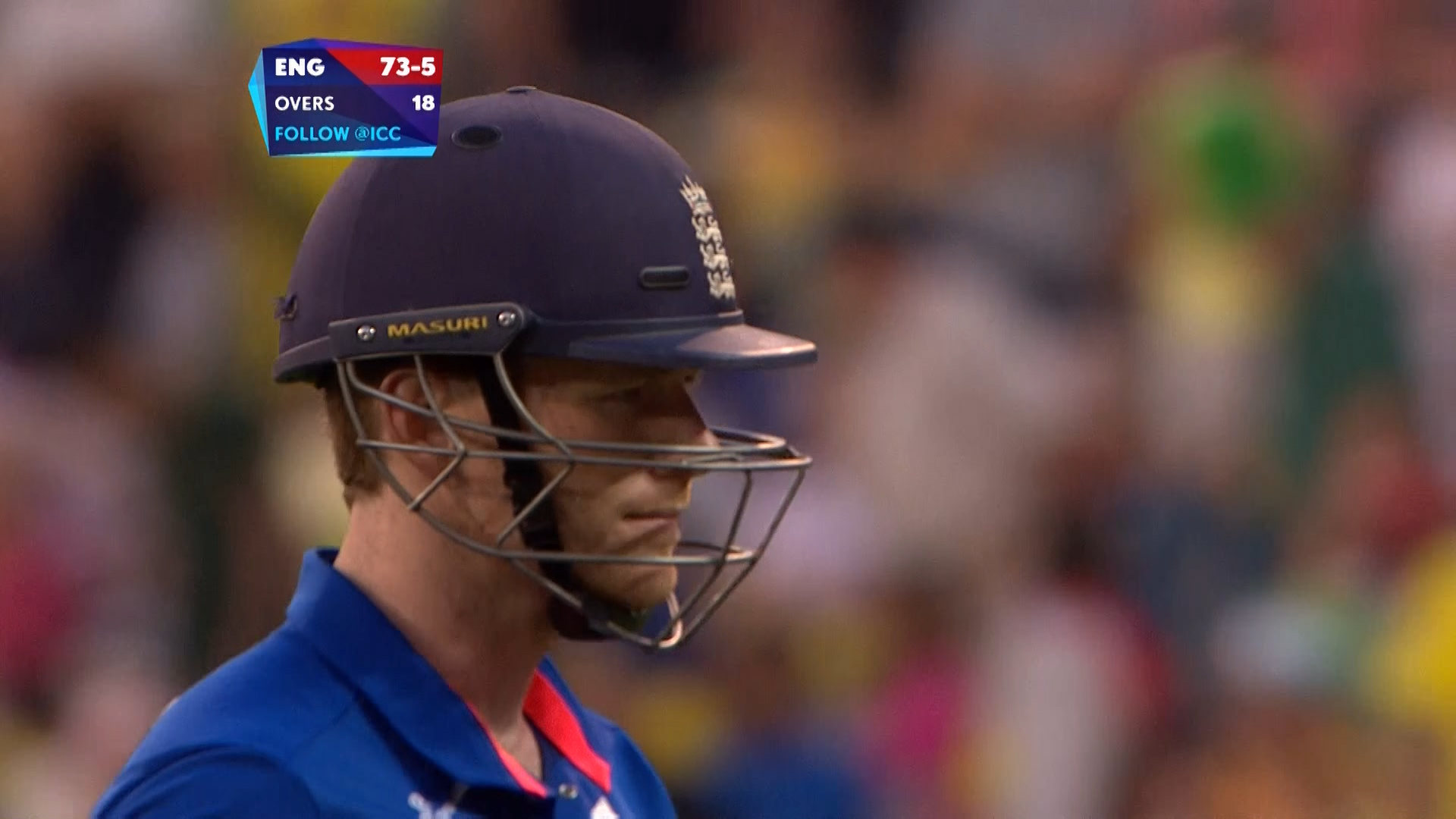 Eoin Morgan wicket – AUS vs ENG