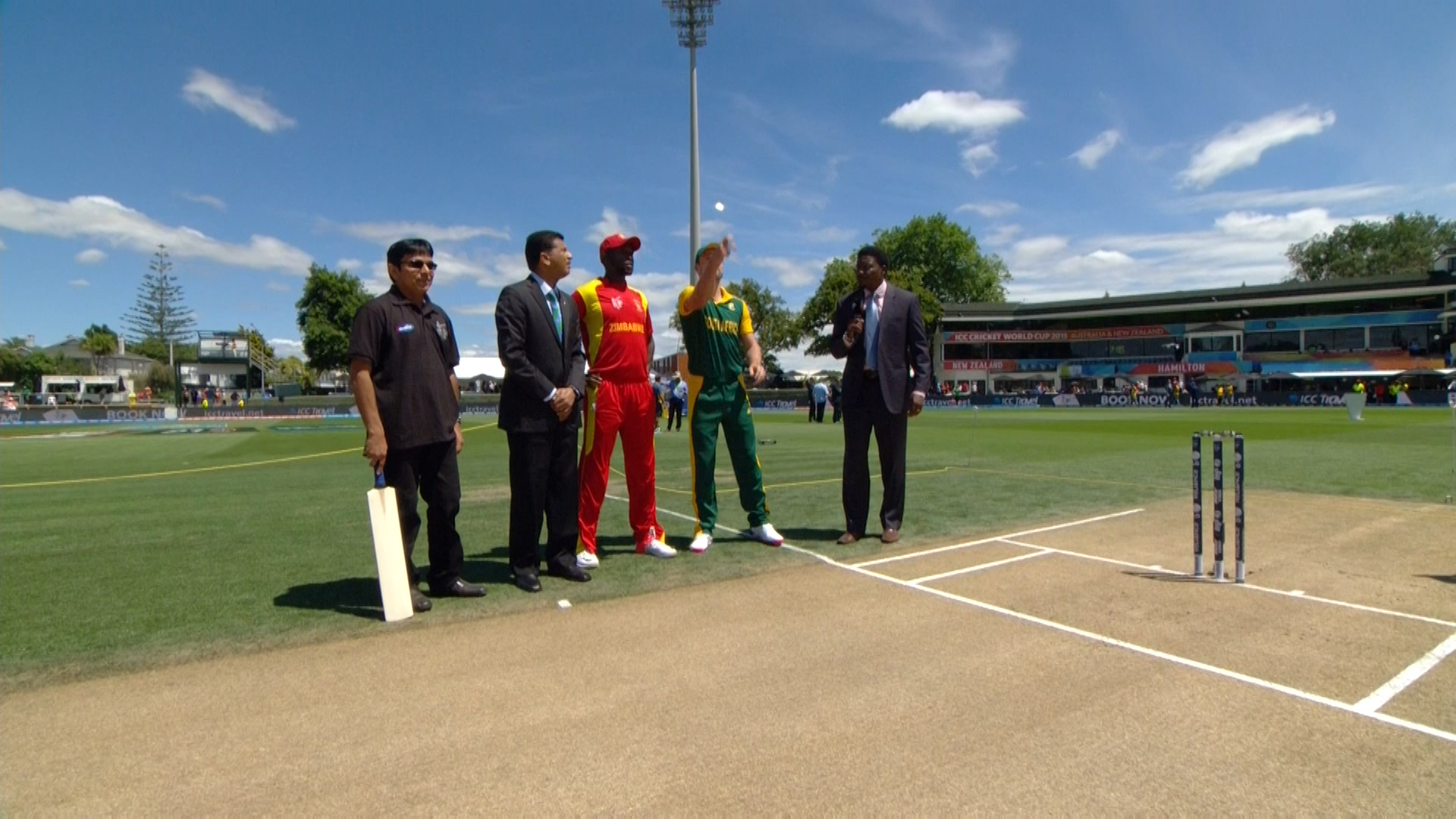 TOSS, PITCH REPORT – SA vs ZIM