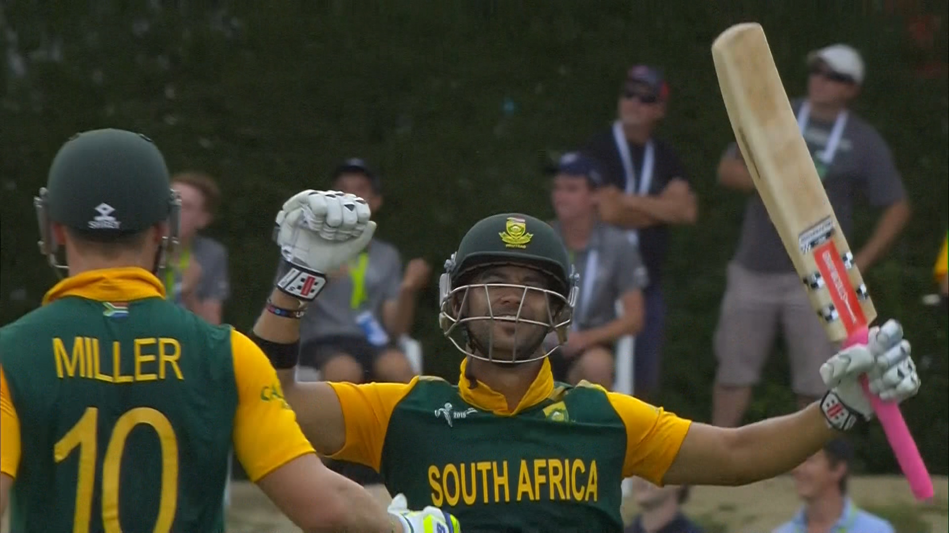 South Africa innings highlights – SA vs ZIM