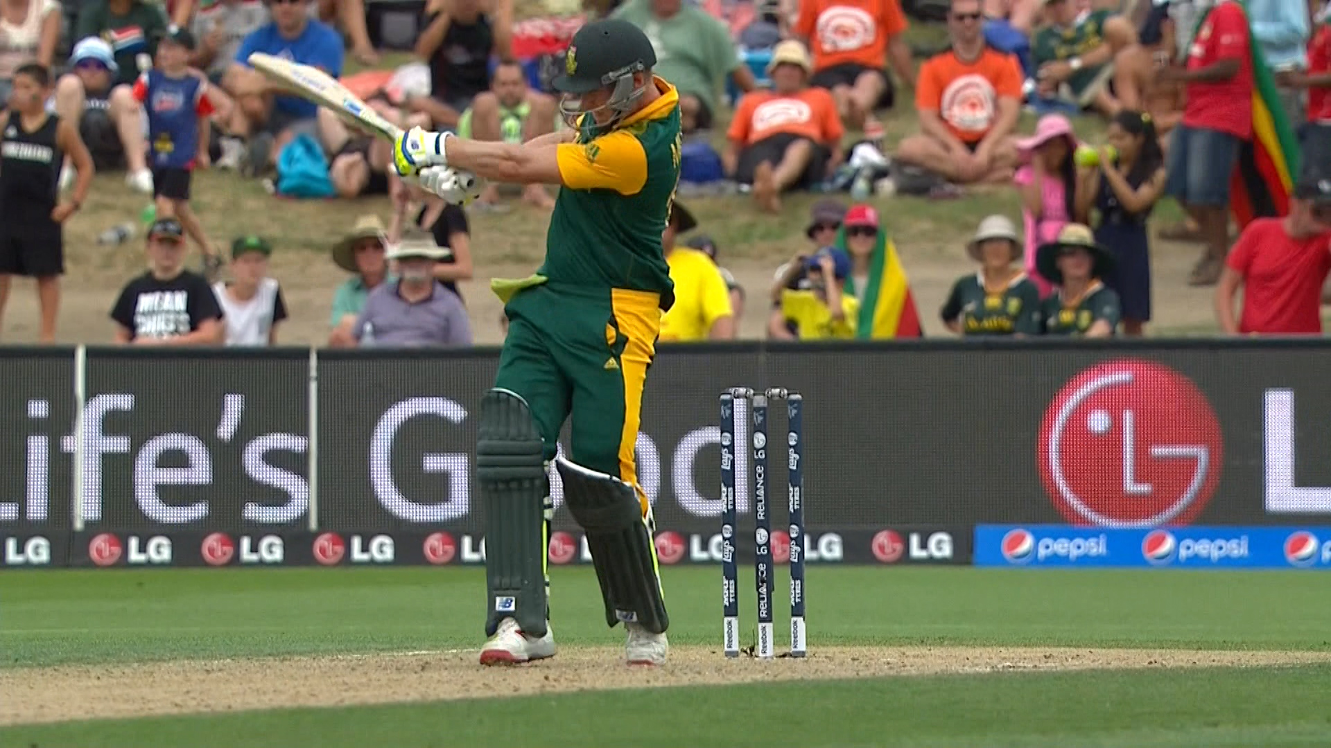 South Africa innings super shots – SA vs ZIM