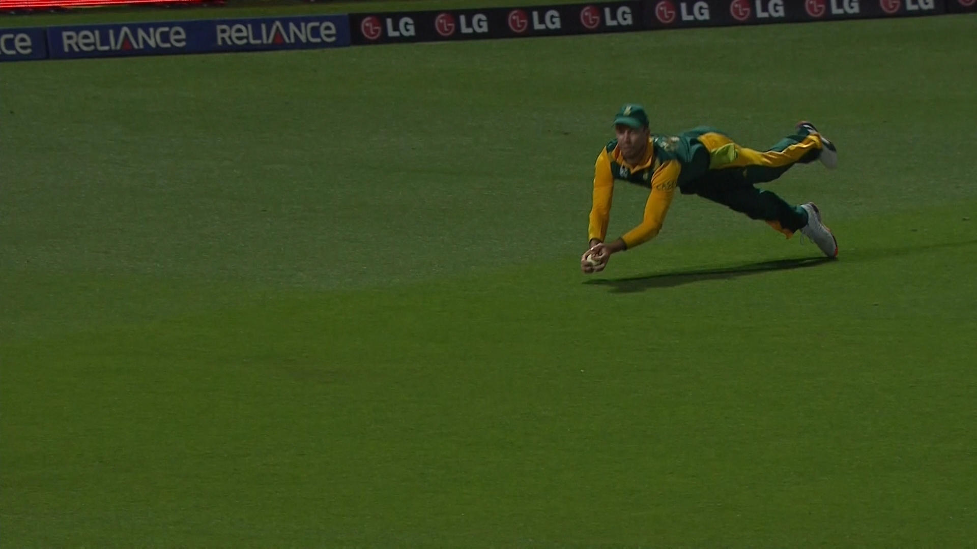 De Villiers's Unbelievable Catch – SA vs ZIM