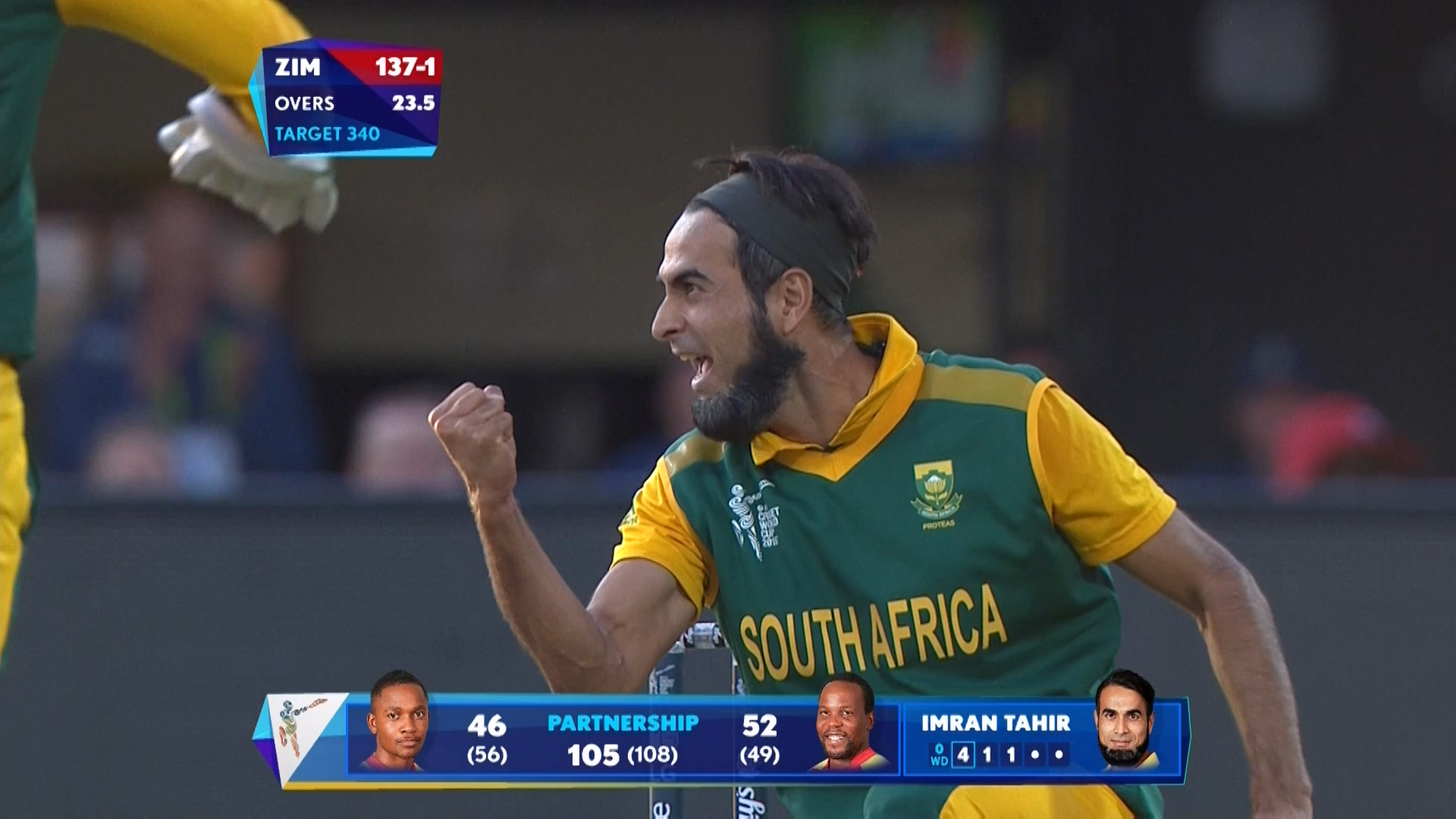 Match Hero – Imran Tahir – SA vs ZIM
