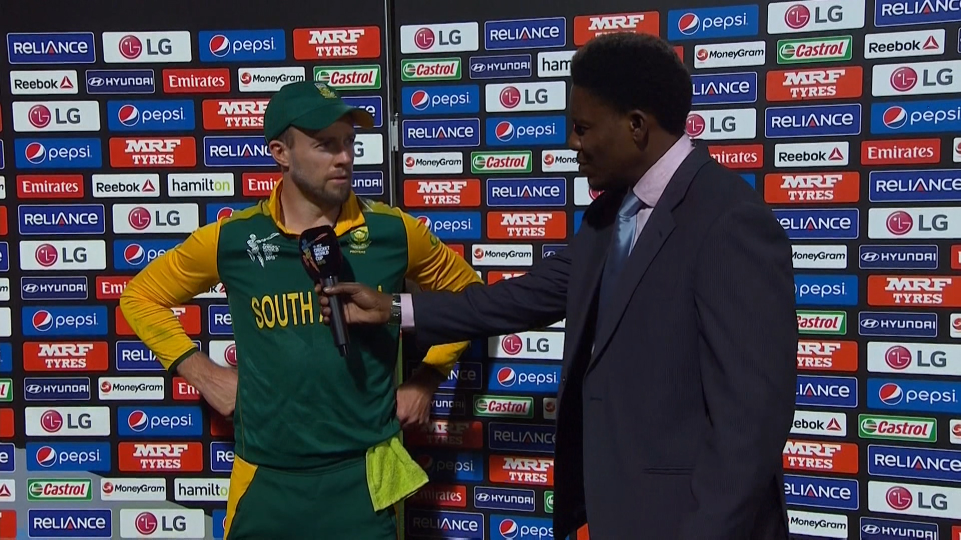 Match Presentation – SA vs ZIM