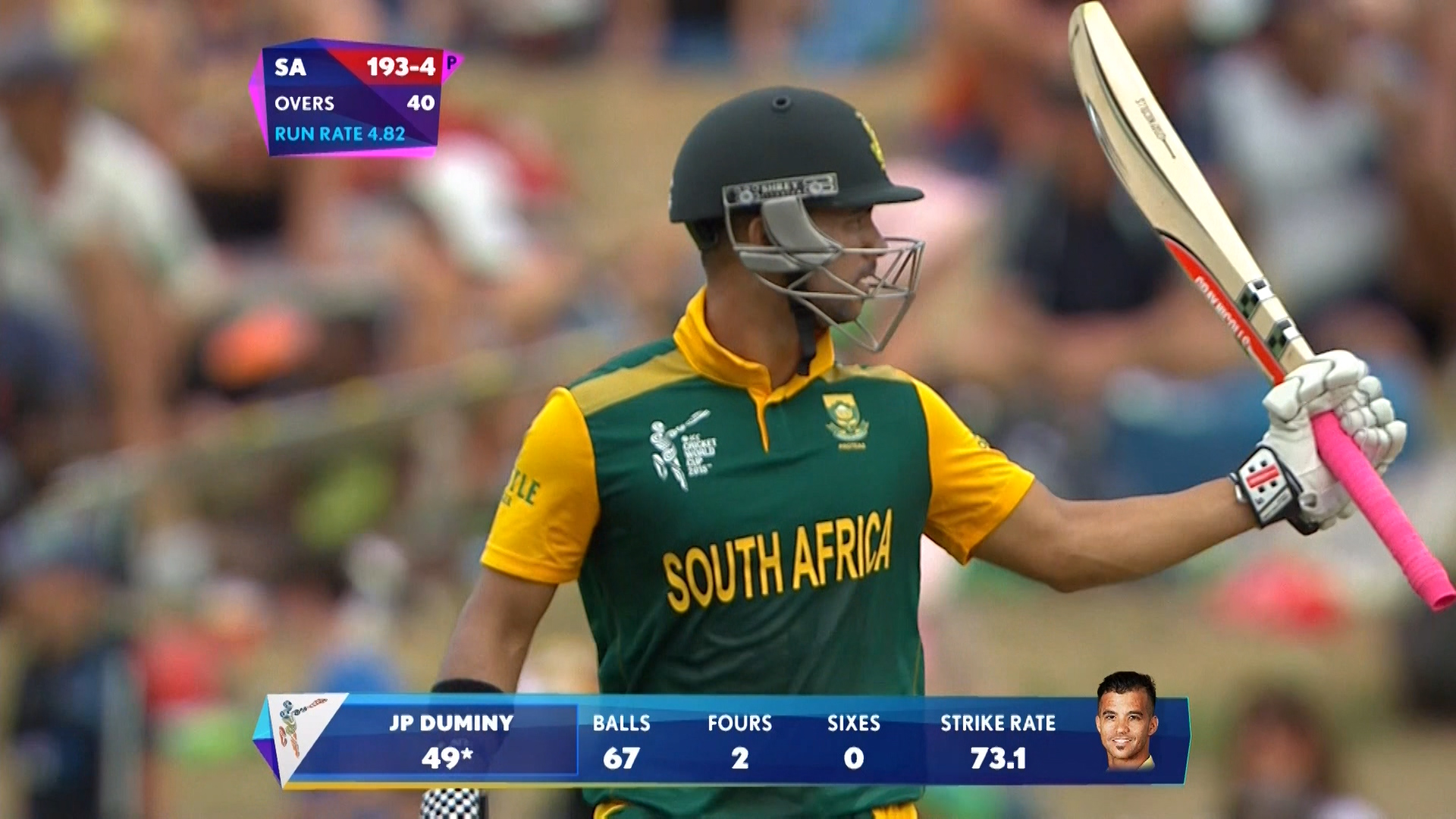 Match Hero – JP Duminy – SA vs ZIM