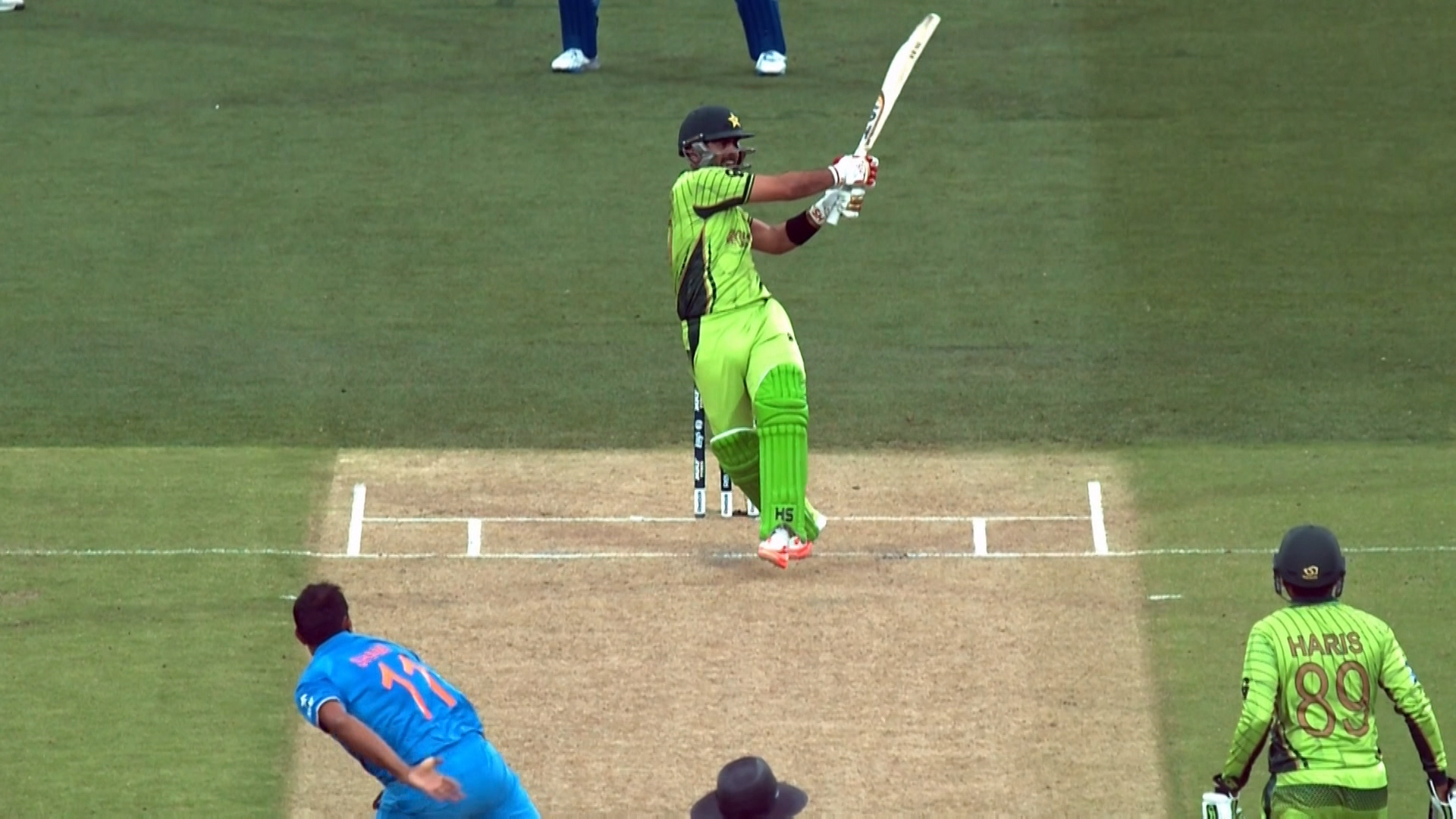 Ahmed Shehzad innings  – IND vs PAK