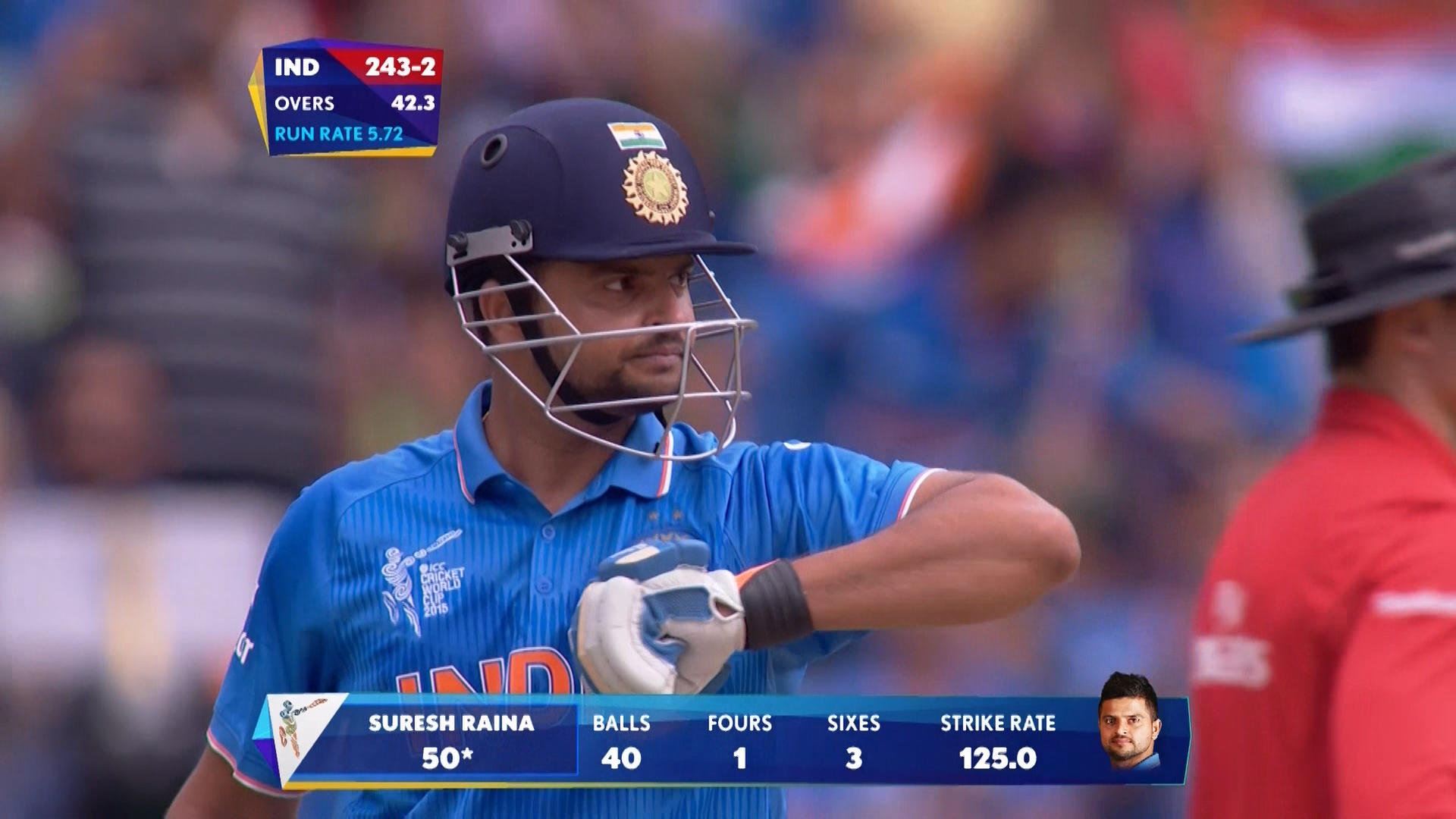 Match Hero –Suresh Raina – IND vs PAK