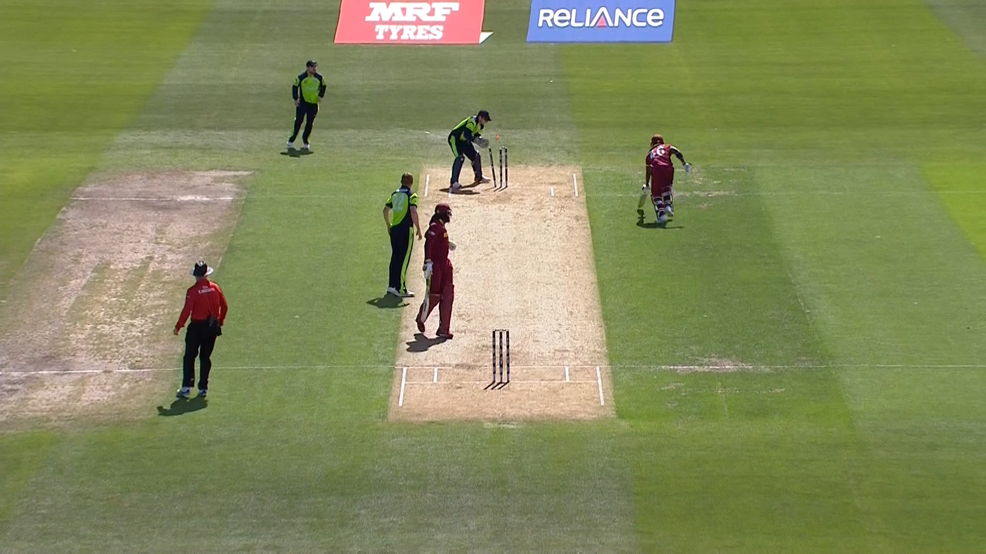 Excellent Fielding By McBrine – IRE vs WI