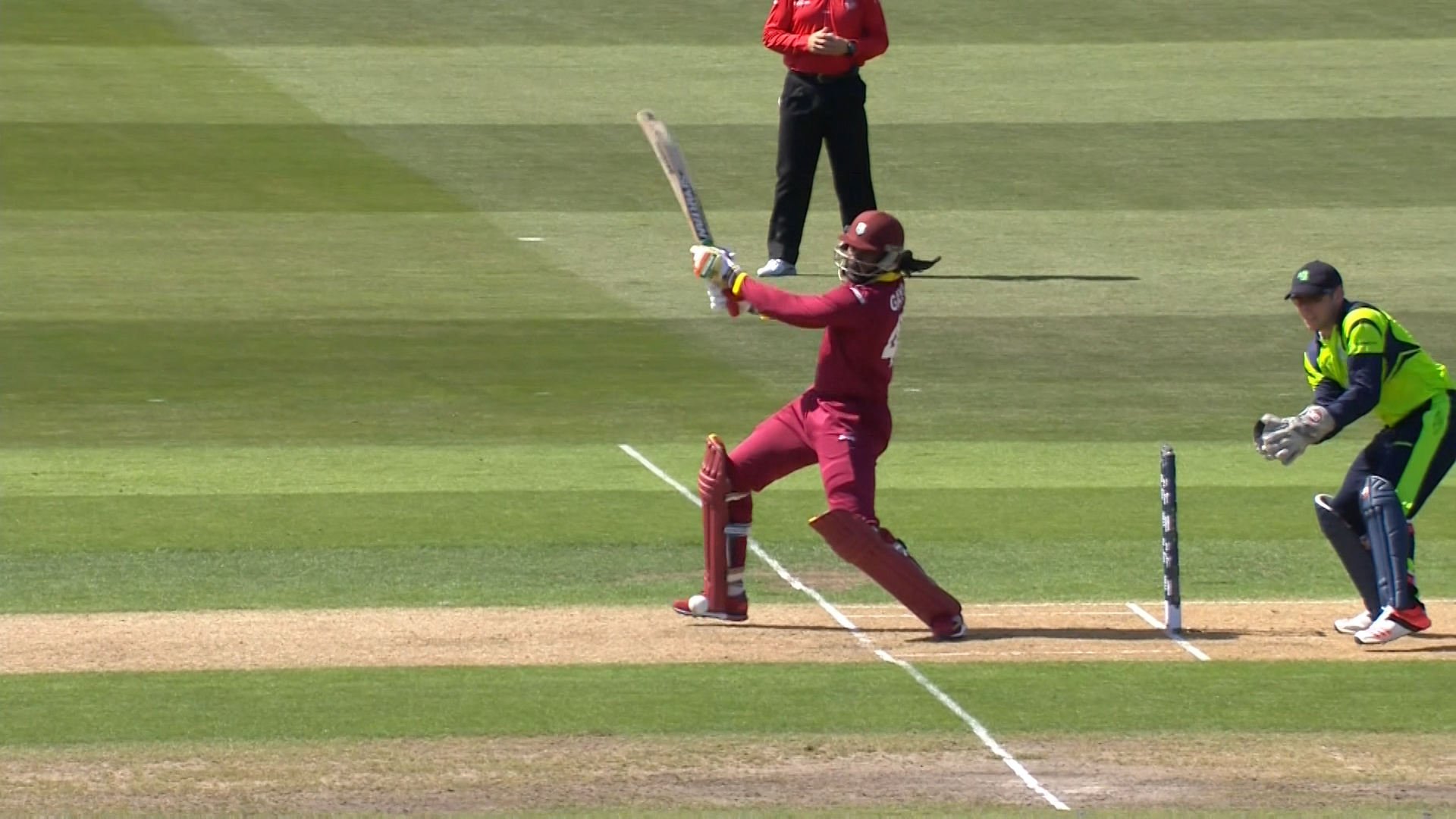 Chris Gayle innings  – IRE vs WI