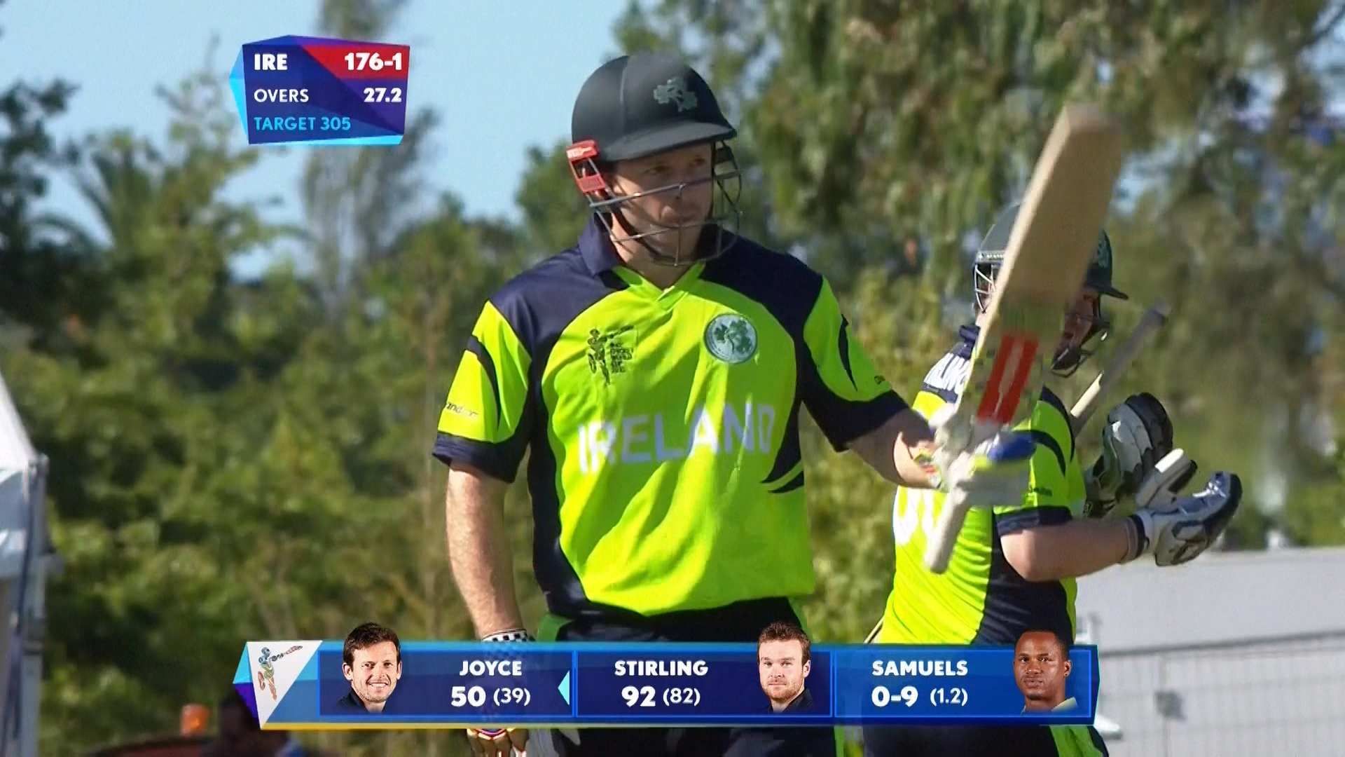 Ireland v West Indies World Cup Ireland innings highlights