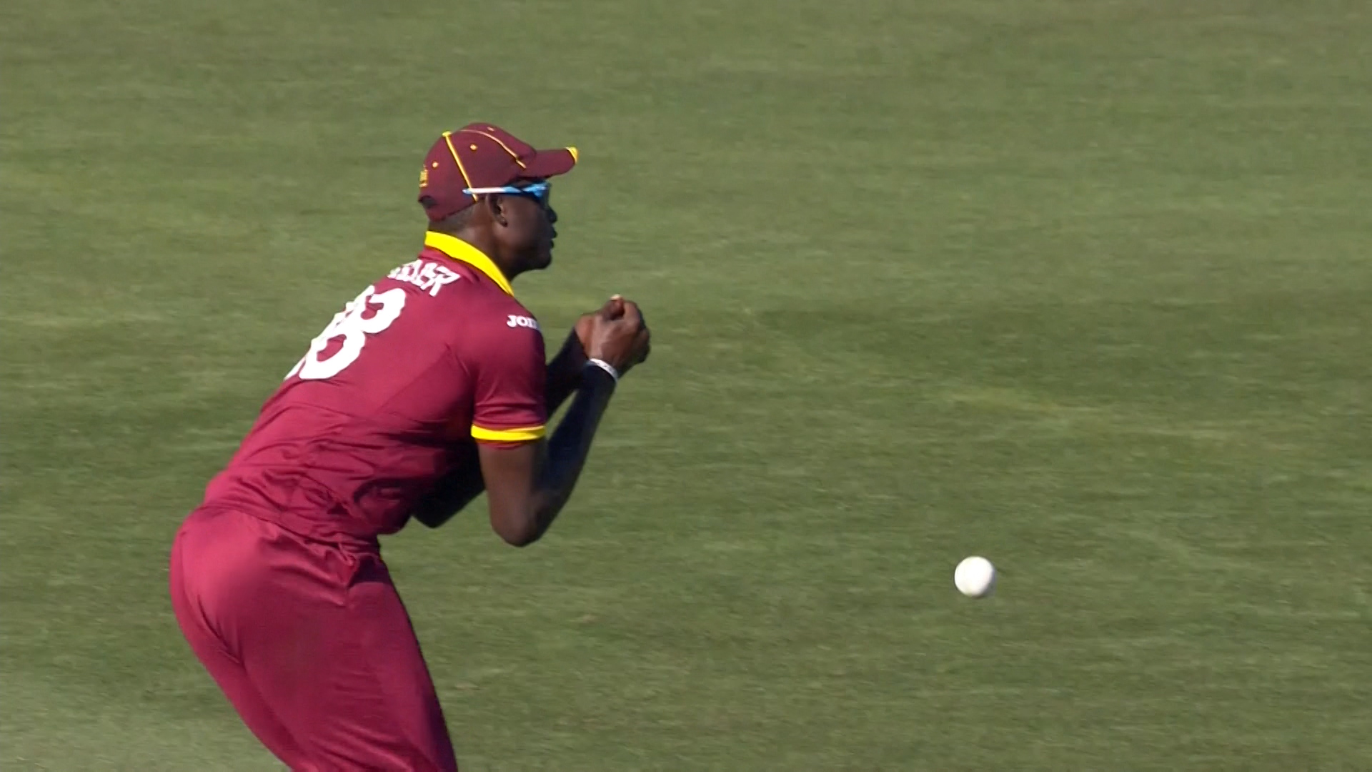 Holder Dropped a Vital Catch   –  IRE vs WI