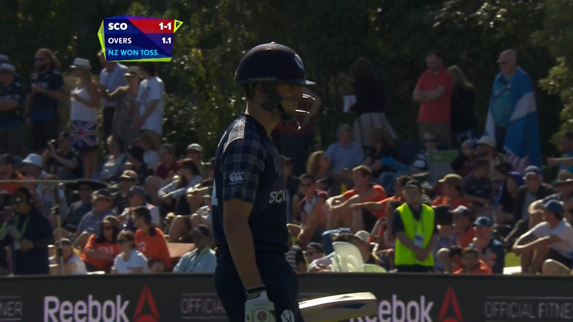 Calum Macleod wicket – NZ vs SCO