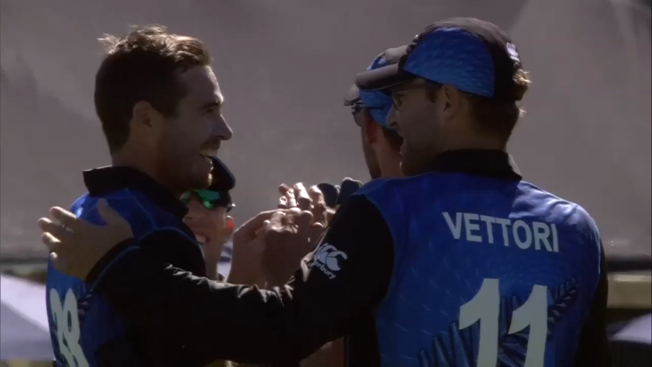 Tim Southee Claims 2 in 2! – NZ vs SCO