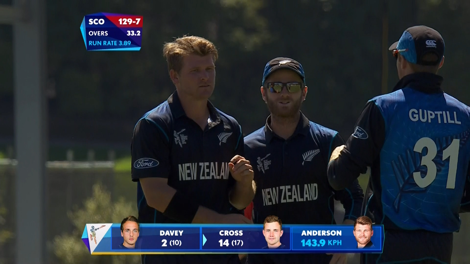 Corey Anderson , 3/18 vs Scotland – NZ vs SCO
