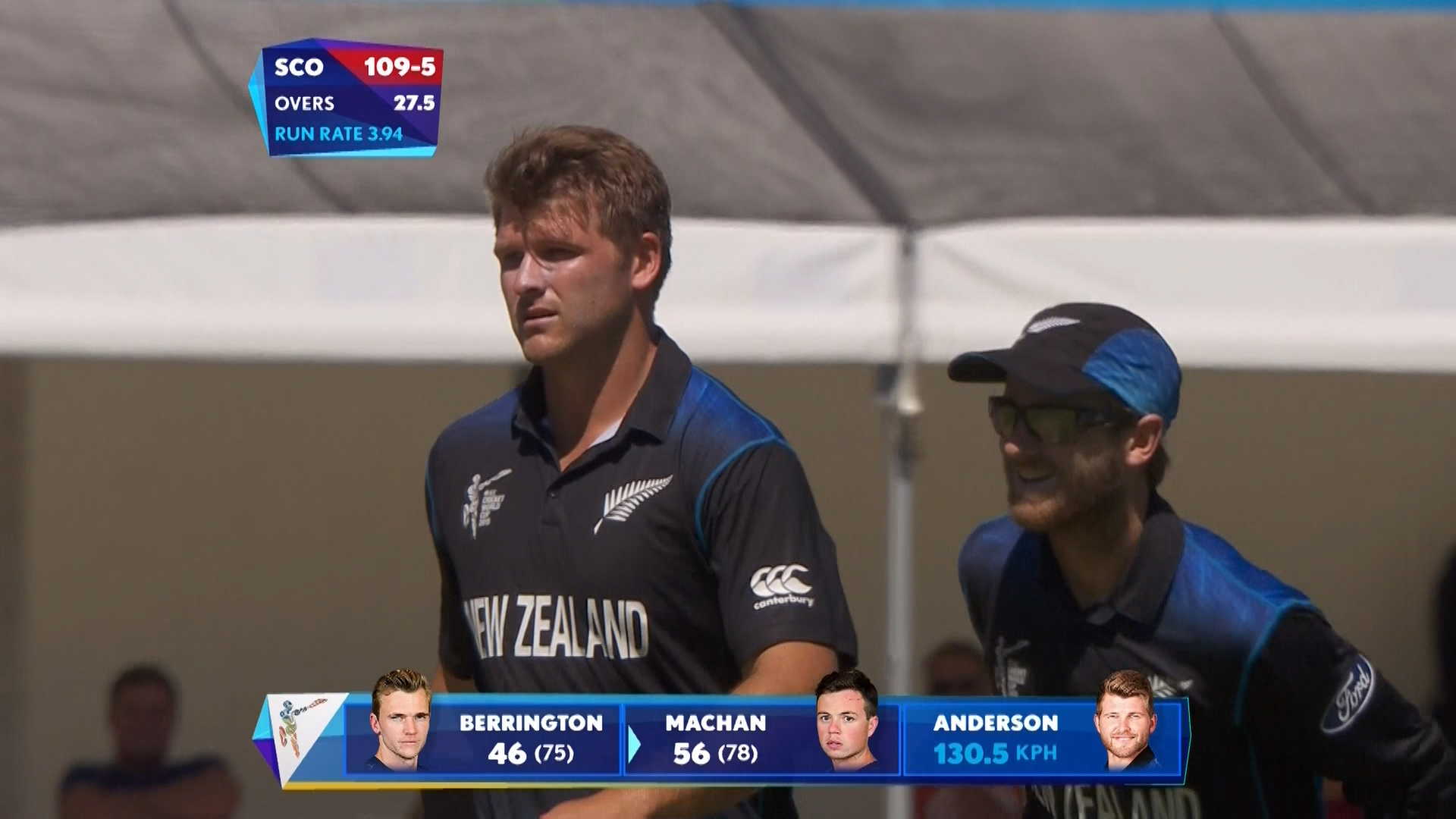 Match Hero – Corey Anderson  – NZ vs SCO