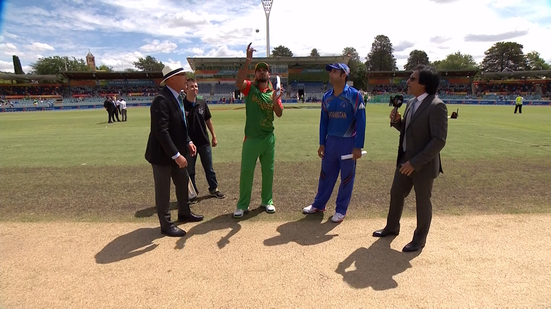 TOSS, PITCH REPORT – BAN vs AFG