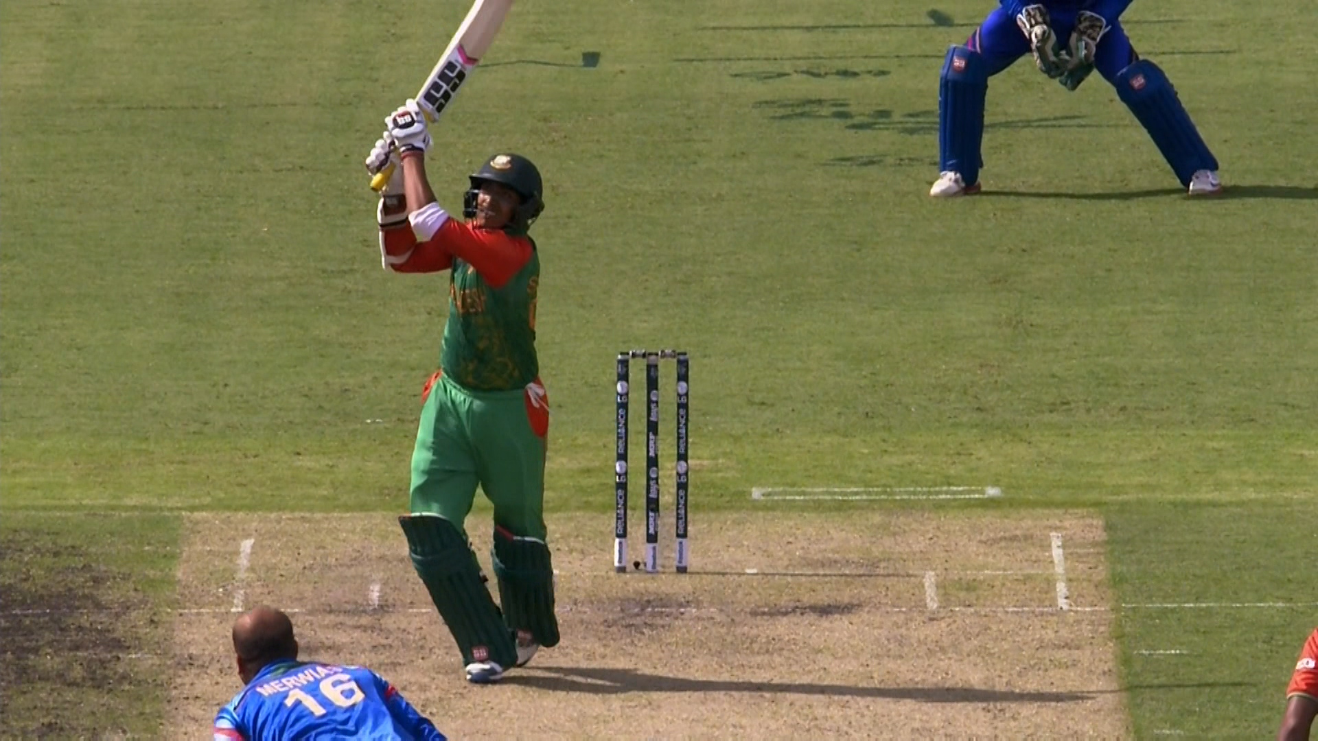 Sarkar Hits a Big Six! – BAN vs AFG