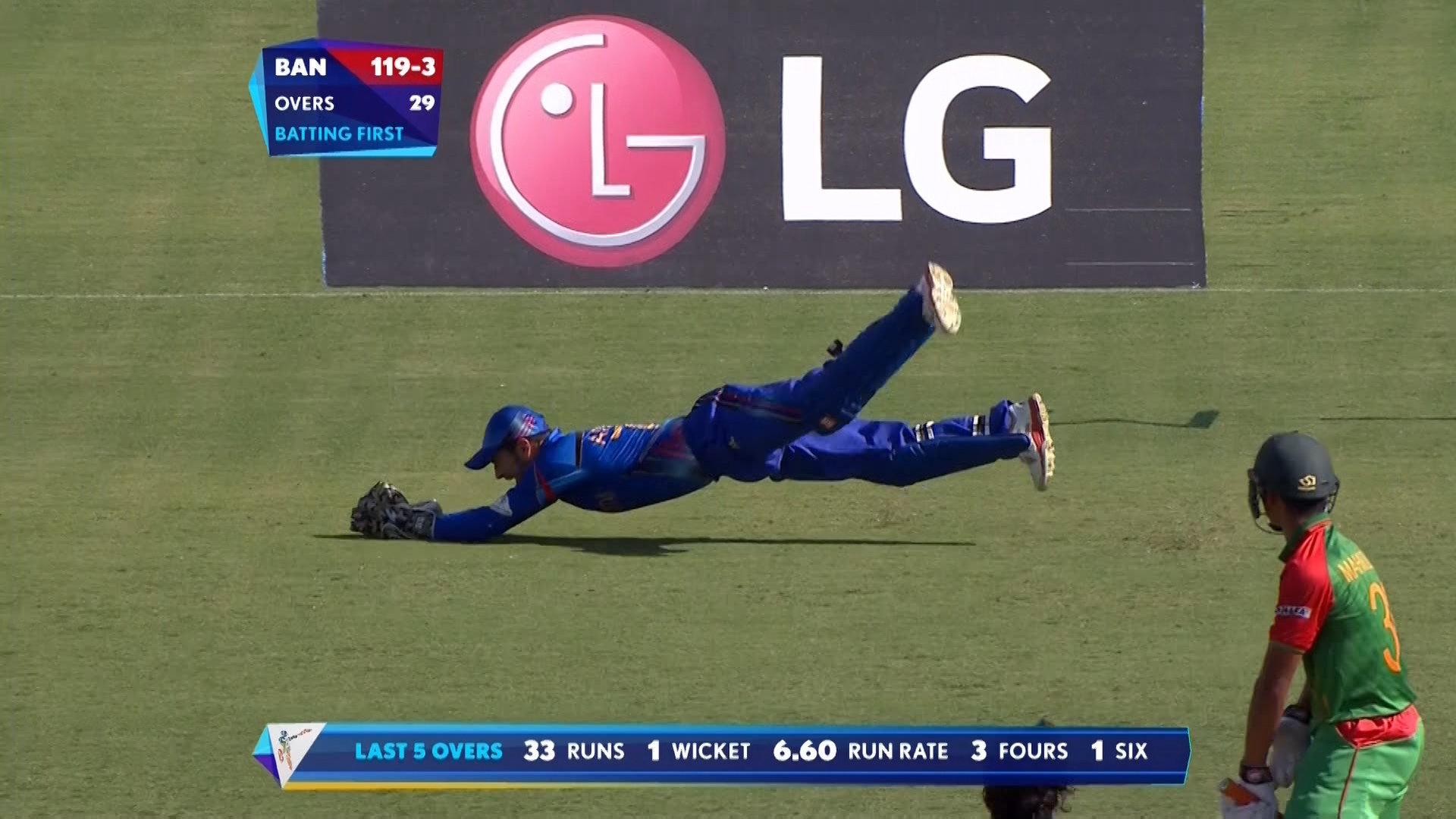 Brilliant catches by Afsar Zazai behind the wickets! – BAN vs AFG