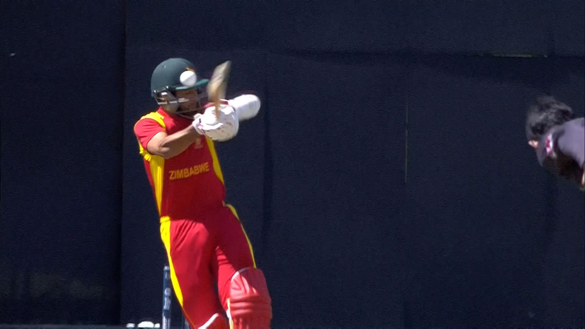Quick Bouncer from JAVED! – ZIM vs UAE