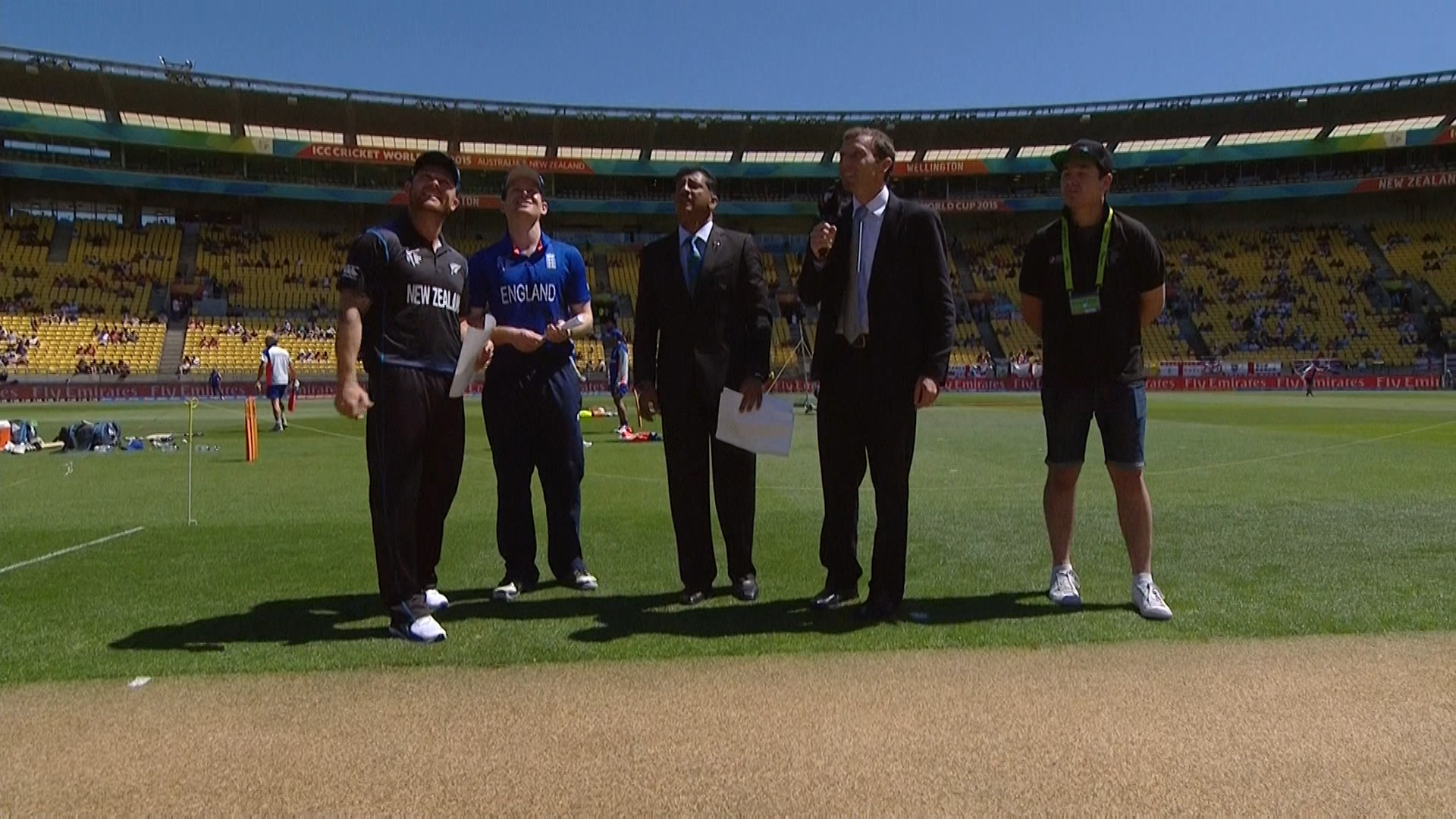 TOSS, PITCH REPORT – NZ vs ENG