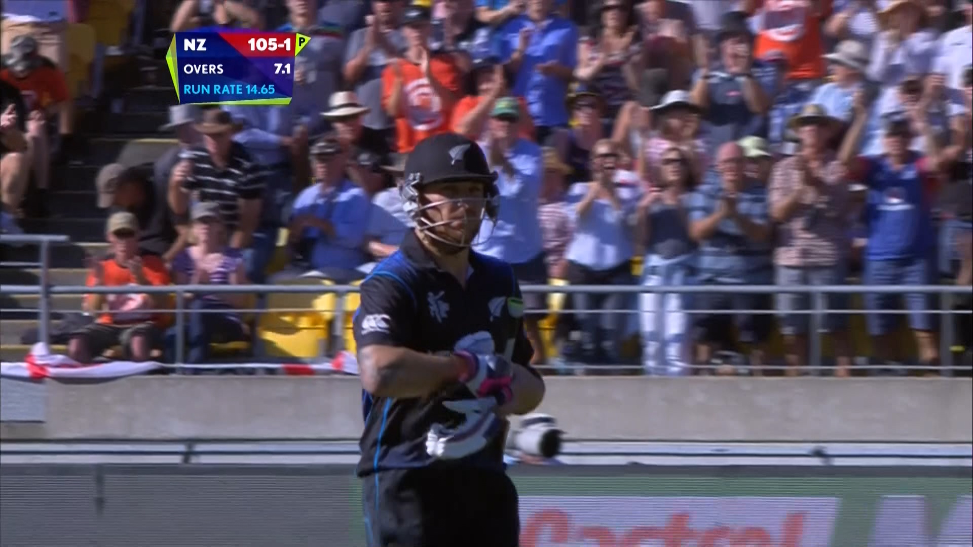 Brendon McCullum Wicket – NZ vs ENG