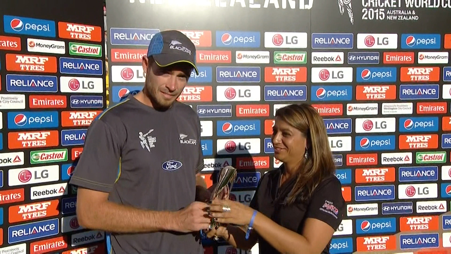 Player of the Match – Tim Southee – NZ vs ENG