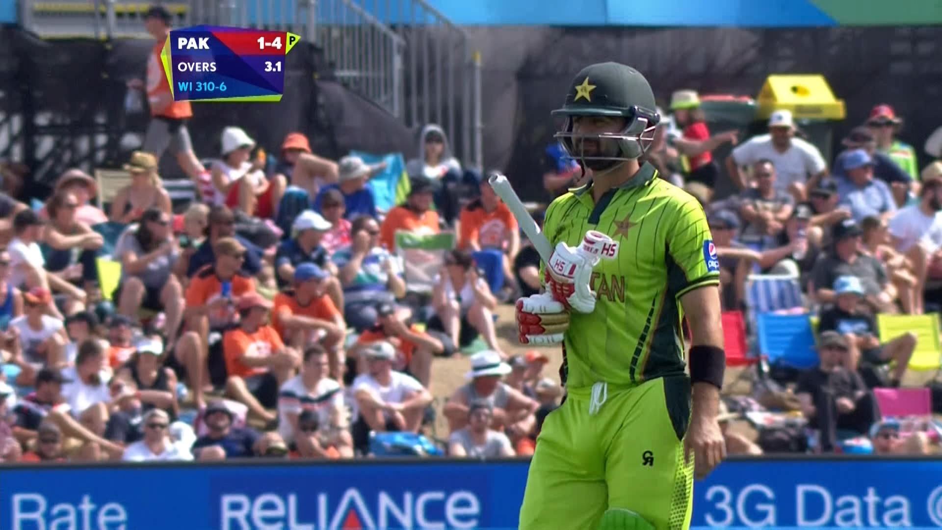 Ahmed Shehzad Wicket – PAK vs WI