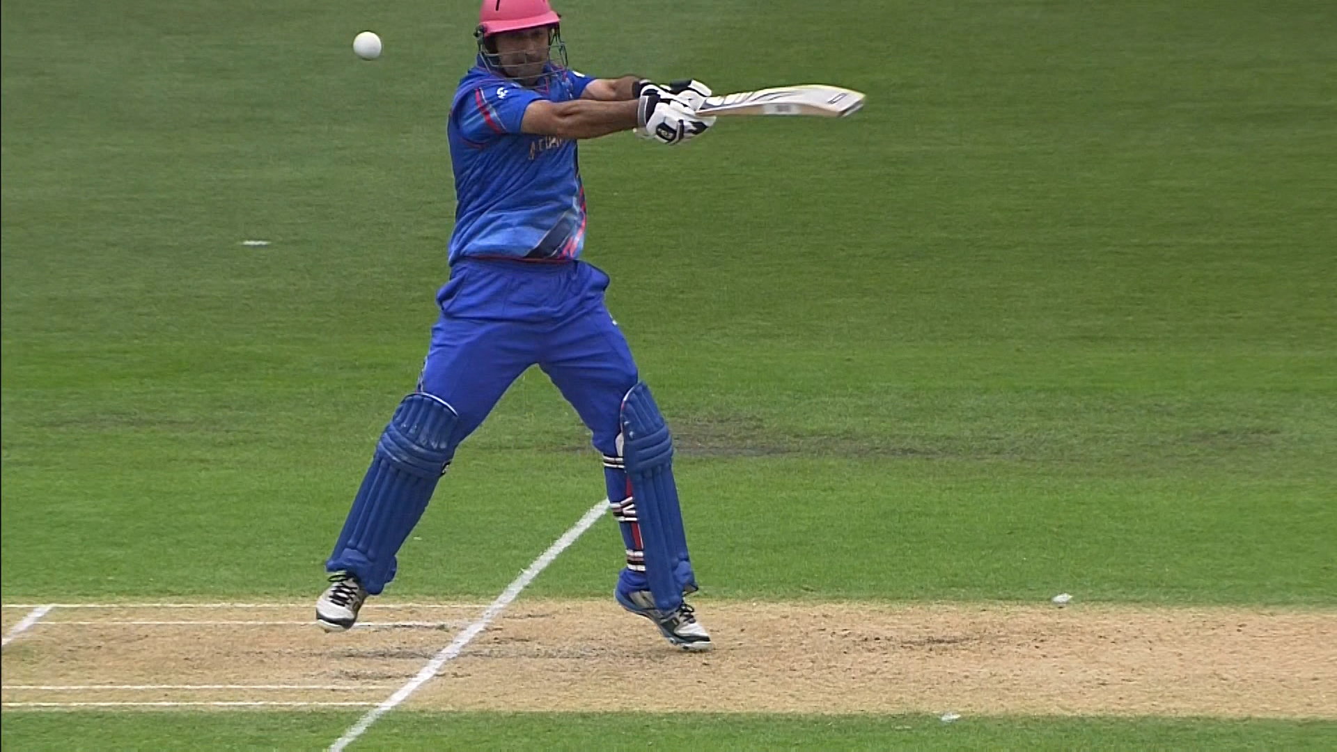 Afghanistan innings super shots