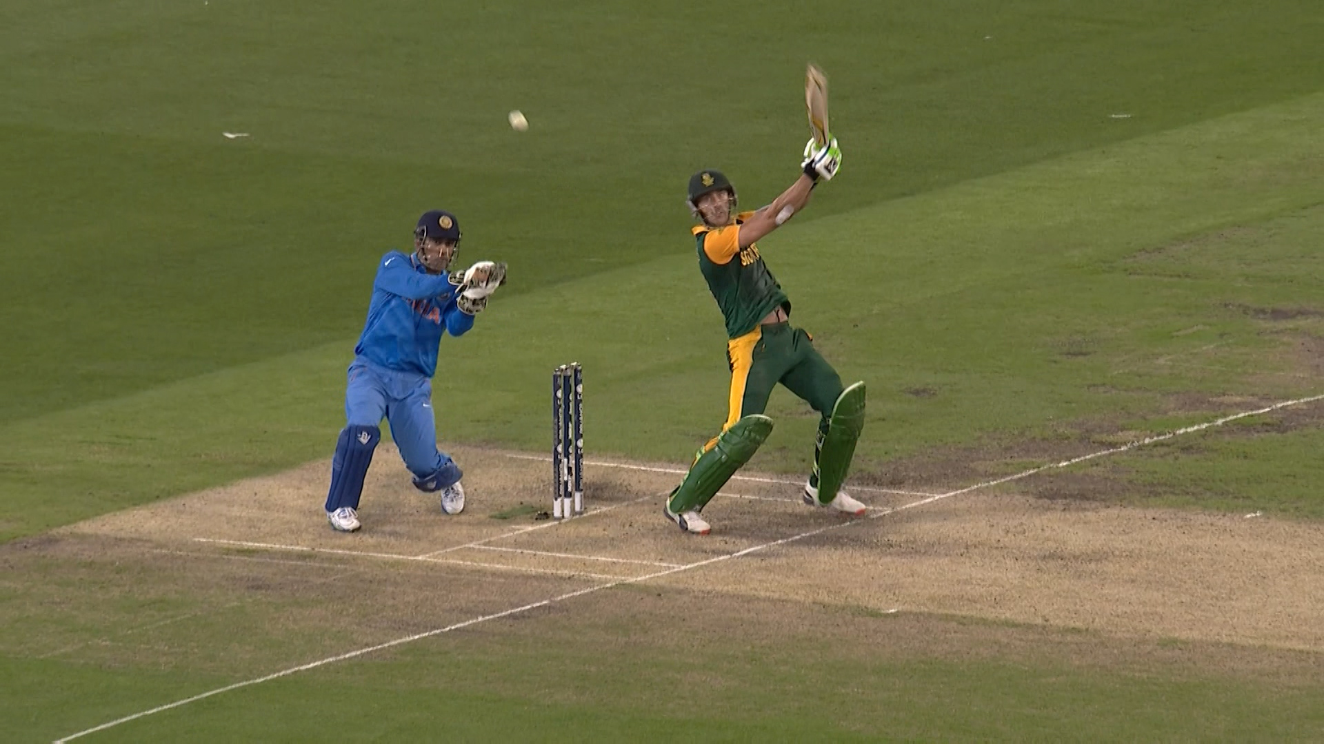 South Africa innings highlights