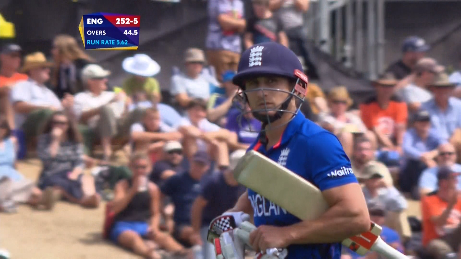 James Taylor Wicket – ENG vs SCO